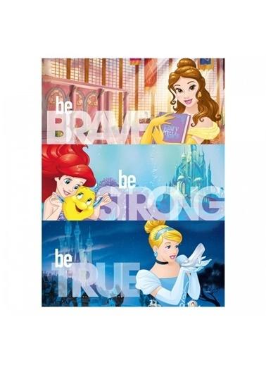 Disney Prensesler-2 50x70 cm Kanvas Tablo Renkli
